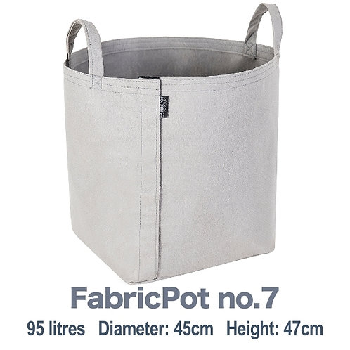 Fabric pot no.7 with handles | 95 litres | FabricPot