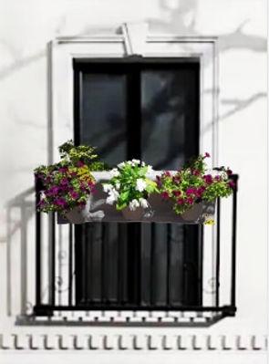 FABRIC POT BALCONY HANGER FLOWERS2.jpg