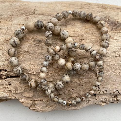 zebradorite bracelet
