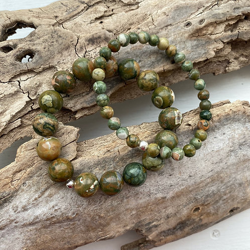 Rainforest Jasper Bracelet