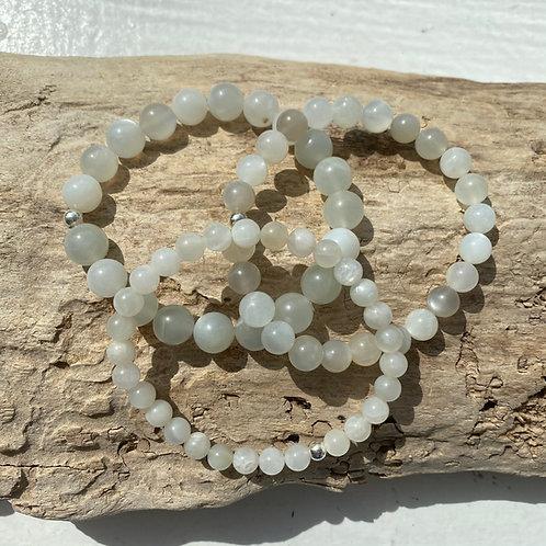 grey moonstone bracelet
