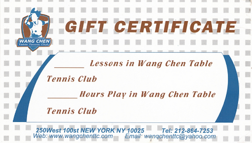 Gift Certification for 1 Hour Child Private Lesson