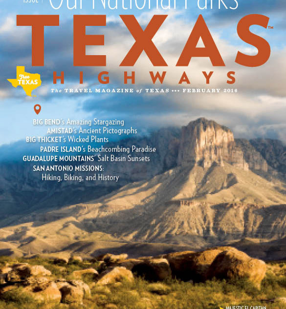 Feature article for Texas Highways MagazinerTe