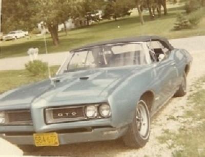 Dave's '68 GTO in 1970
