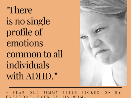 Emotional Dynamics in individuals, couples & families with ADHD