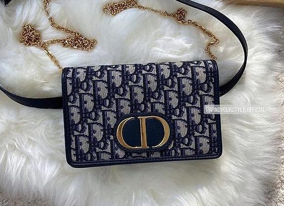 Dior 30 montaigne 2-in-1 pouch 兩用蒙田腰包