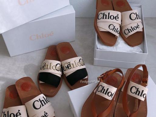 Chloe熱銷的涼鞋和拖鞋可愛又好看 重點是好穿好搭配❤️