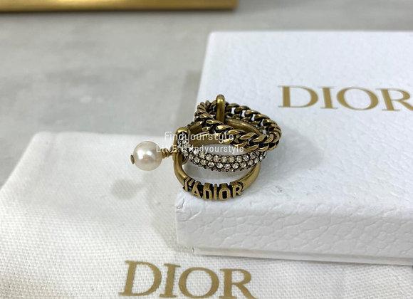 Dior 三合一戒指