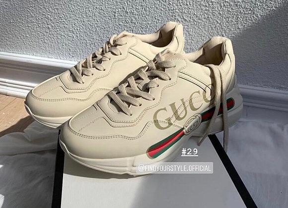 Gucci Rhyton logo sneakers 老爹運動鞋