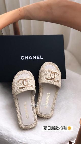 Chanel 夏日新款涼鞋~