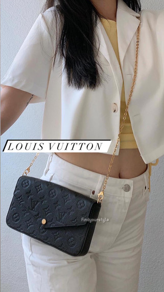 Louis Vuitton 經典爆款黑色皮革三合一Woc 👈🏻小包但容量夠❣️一包輕鬆出門⚡️現貨在台不用等  #LV現貨 #LV皮件