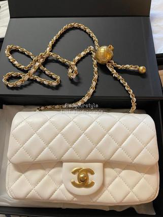 Chanel 夢幻白色金球20
