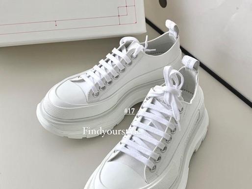 Alexander McQueen 夏日白鞋精選💛