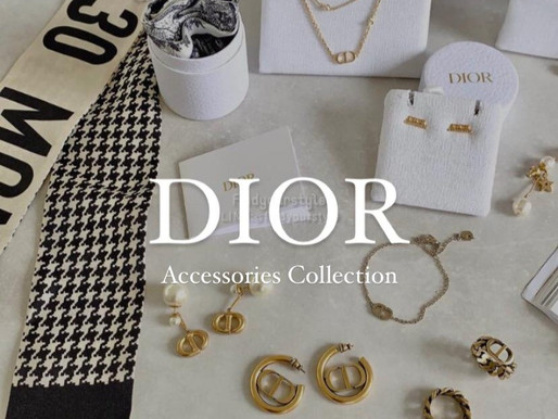 美美的Dior飾品合輯又來了🌝💫💛