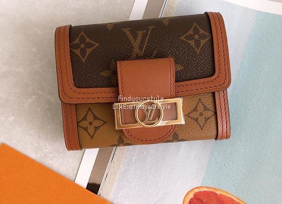 LV Dauphine wallet達芬尼短夾
