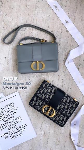 Dior 老花款現貨推薦👈🏻Dior 蒙田30 + small tote 老花經典不會退流行✅