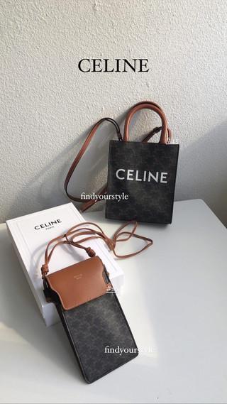 令人愛不釋手的Celine老花包🎉 mini tote / 手機包  輕鬆出門好搭配✅