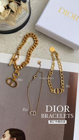 Dior 絕美客訂飾品到貨💕歐洲現場連線中👈🏻趕緊加定您要的款式