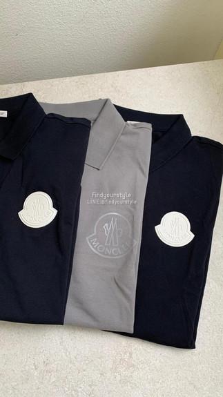 Moncler 夏日單品推薦🥰polo衫怎麼能少✅