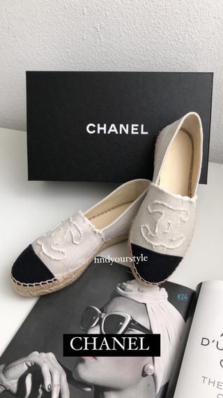 舒服又百搭Chanel鉛筆鞋~布款舒適透氣夏日必備!現貨限量認購中