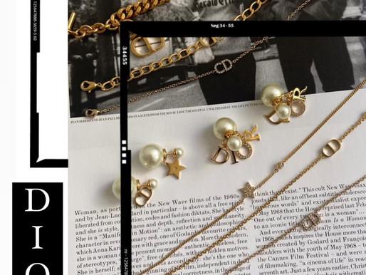 仙氣滿分的Dior飾品☁️🤍絕對是仙女必備🧚♀️