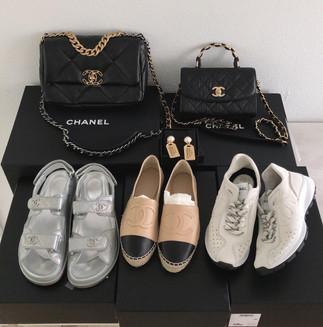 怦然心動最新款CHANEL美包美鞋到貨