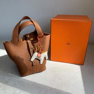 Hermès 爆款Picotin 一次看👈🏻想入手橘盒的仙女們🌈基本三大金剛色推薦給你們👈🏻👈🏻