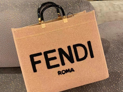 FENDI 2021夏日新款TOTE一眼就愛上❤️請入手這款美包