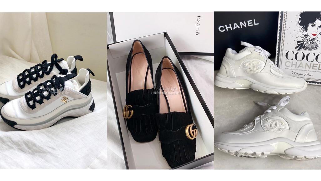 現貨美鞋🔥限時搶購 Chanel 球鞋/涼鞋、MCQ小白鞋/... 熱騰騰剛抵台的精品美鞋🔥 找到妳的完美尺寸就別再猶豫!甜甜價給各位帶走❤️