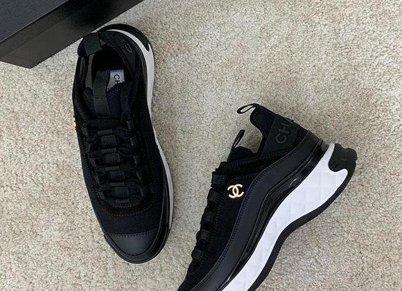 CHANEL 黑色增高球鞋 NT$32
