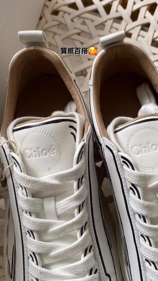 #運動鞋也可以好看又有質感Chloe運動鞋都好看又好搭💖還不趕緊來入手一雙🤩