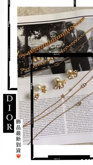 仙氣滿分的Dior飾品☁️🤍絕對是仙女必備🧚♀