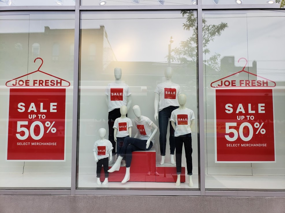Joe Fresh Sale