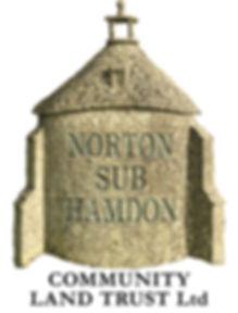 CLT logo,The Shop is run by Norton sub Hamdon Community Land Trust,