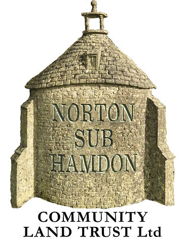 CLT logo,The Shop is run by Norton sub Hamdon Community Land Trust,