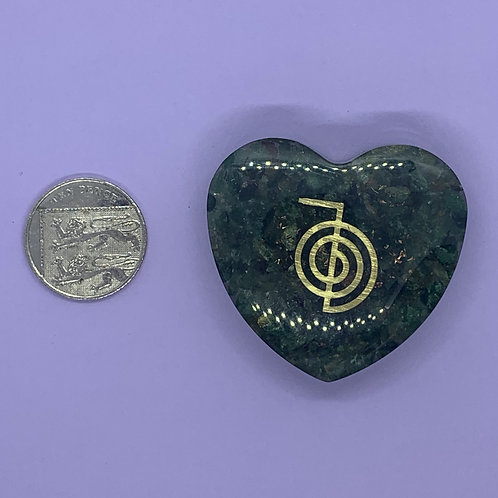 Aventurine Orgone Heart