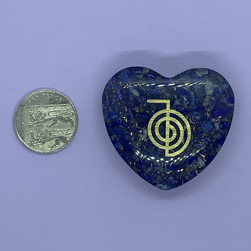 Lapis Lazuli Orgone Heart
