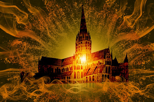 Salisbury Cathedral Limited Edition Print