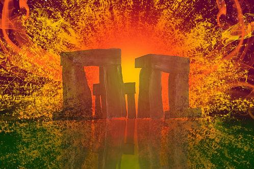 Stonehenge Limited Edition Print