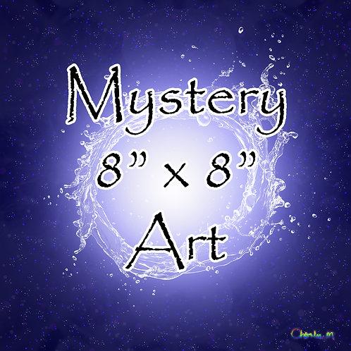 "Mystery 8"" x 8"" Art"