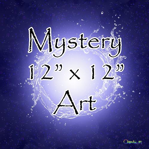 "Mystery 12"" x 12"" Art"