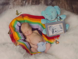 Miracle Rainbow Baby ~ Judah