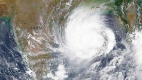 Cyclone et dévastation sur Calcutta