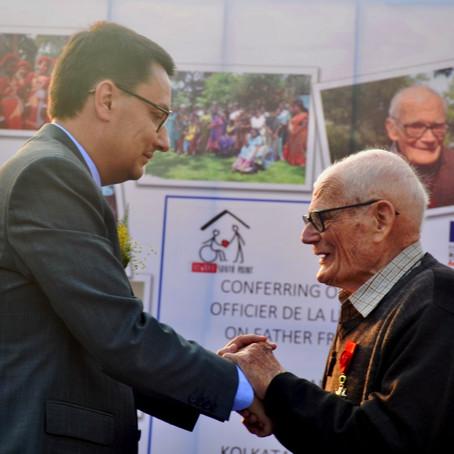 Legion d'honneur to father Laborde