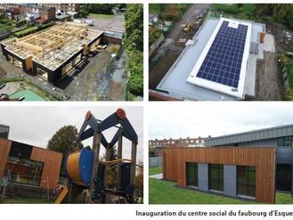 Inauguration du nouveau centre social du Faubourg d'Esquerchin les 6 et 7 décembre 2019