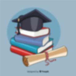 Diploma en boek