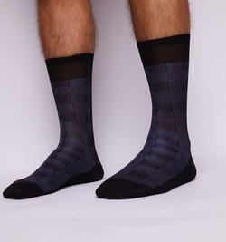 Short Socks With Pattern