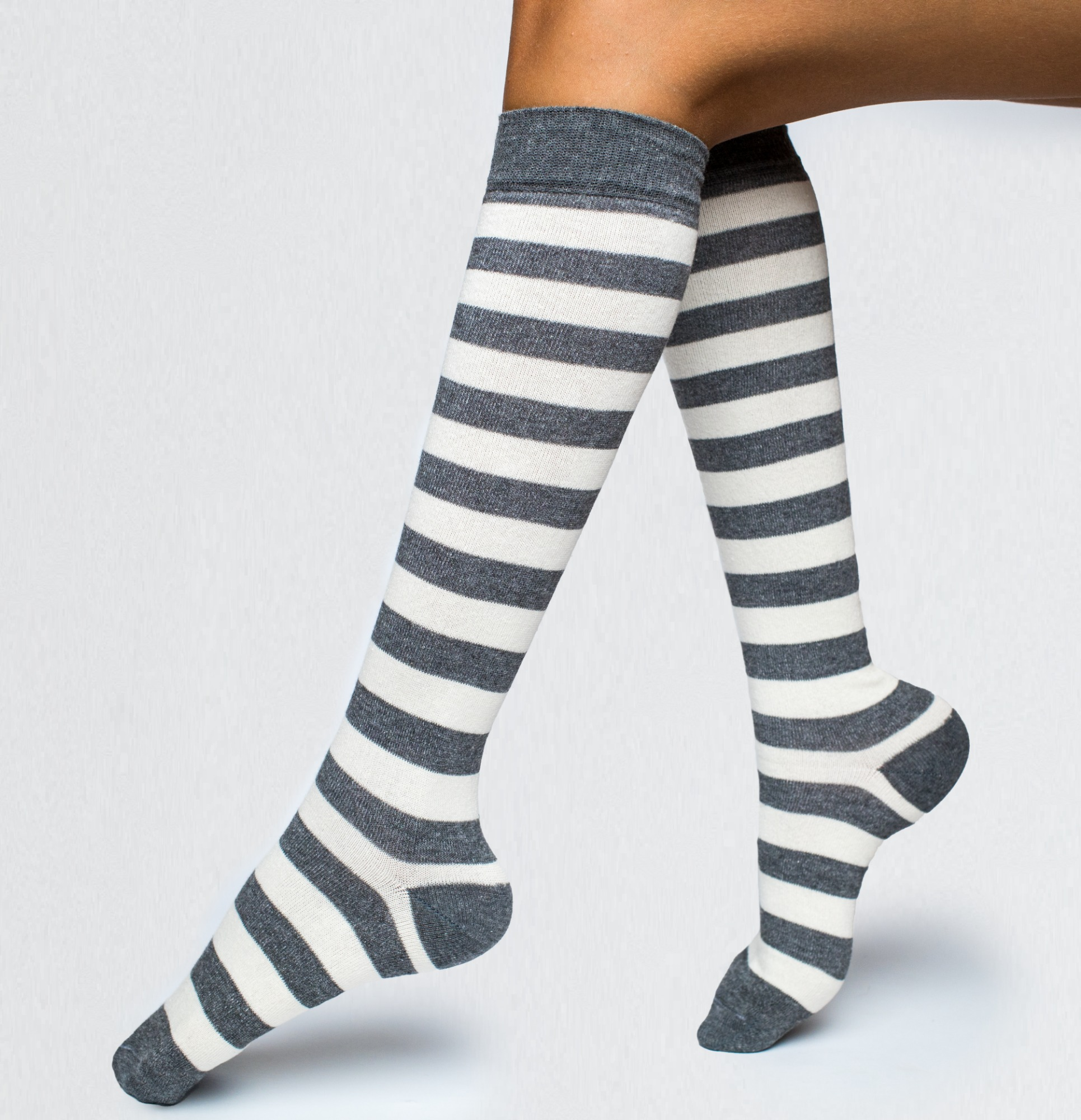 Long Socks with pattern