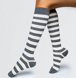 Long Socks with pattern