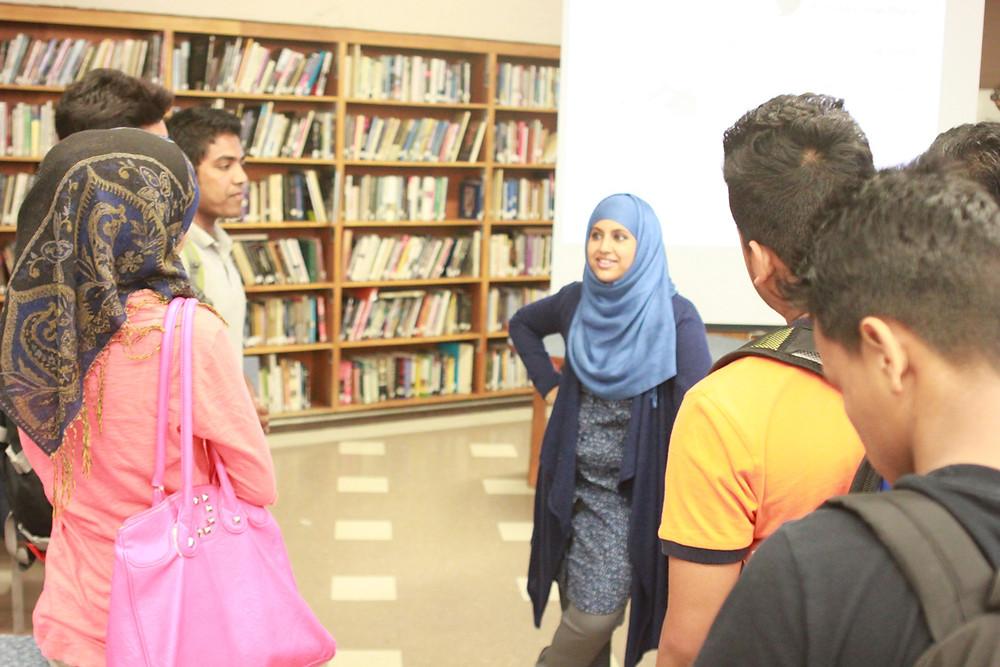 Rumki with students.jpg